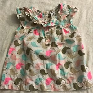 Baby girl Top Bird printed 24 months